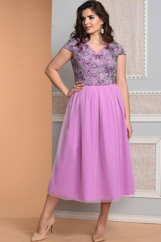 Платье Diomel 546 фиалка