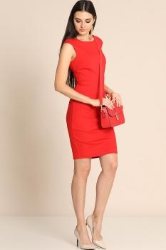 Платье Divina 1.390 Красный