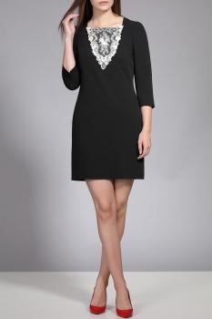 Платье Divina 1.903-2 Черный