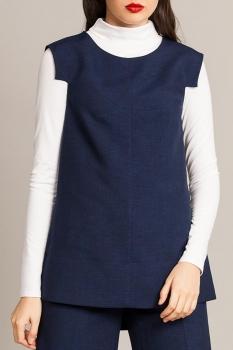 Блузка Divina 6.443 Темно-синий
