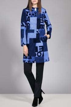 Пальто Divina 7.200-4 Синий