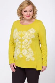 Блузка Djerza 0118-2 желтый
