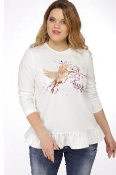 Блузка Djerza 0185 белый