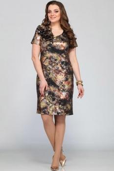 Платье Djerza 1080 коричневый