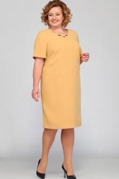 Платье Djerza 1324-4 оранжевый
