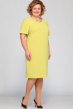 Платье Djerza 1324-5 желтый