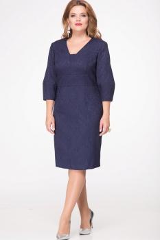 Платье Djerza 1406-1 синий