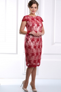 Платье Djerza 1407 красный