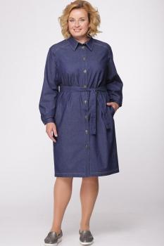 Платье Djerza 1426 синий