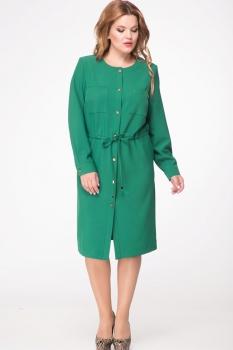 Платье Djerza 1428 зеленый
