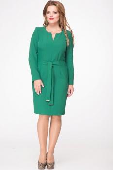 Платье Djerza 1429-1 зеленый