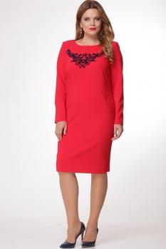 Платье Djerza 1430 красный