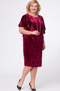 Платье Djerza 1431-1 бордо