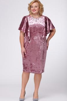 Платье Djerza 1431 розовый