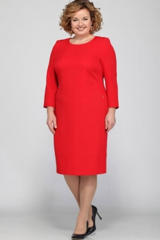 Платье Djerza 1436-1 красный