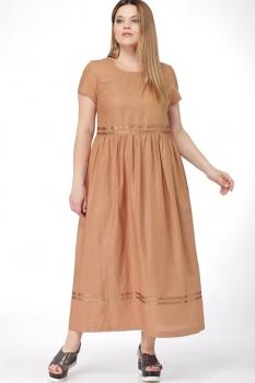 Платье Djerza 1438 коричневый