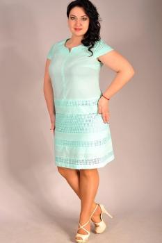 Платье Edibor 1060 мята