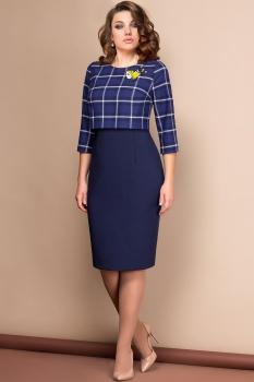 Платье Эледи 2559 Темно-синий