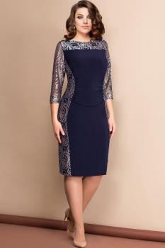 Платье Эледи 2604 Темно-синий