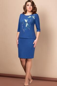 Платье Эледи 2606-А Василек