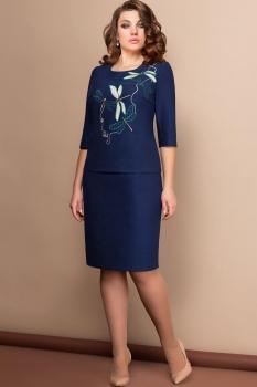 Платье Эледи 2606 Темно-синий