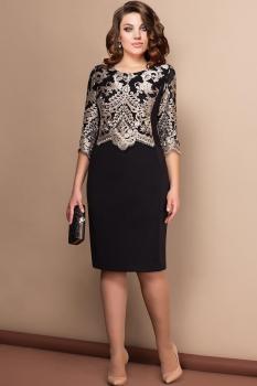 Платье Эледи 2608 Черный