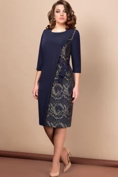 Платье Эледи 2614 Темно-синий