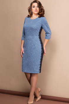 Платье Эледи 2619 Синие тона