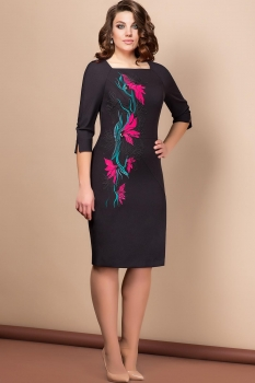 Платье Эледи 2627 Черный