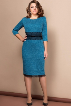 Платье Эледи 2636 Синие тона
