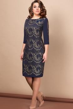 Платье Эледи 2658 Темно-синий