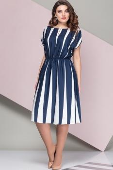 Платье Эледи 2687 Темно-синий