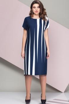 Платье Эледи 2688 Темно-синий