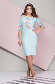 Платье Эледи 2721-1 Бирюзовый