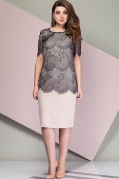 Платье Эледи 2735 Бежевые тона