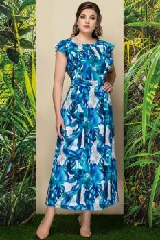 Платье Эледи 2781-3 синий