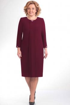 Платье Elga 01-440 бордо