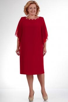Платье Elga 01-468-10 красный new