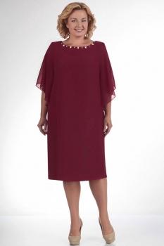 Платье Elga 01-468-8 бордо
