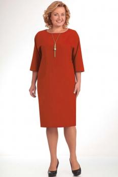 Платье Elga 01-472-17 кирпичный