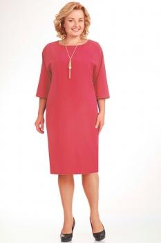 Платье Elga 01-472-23 коралл new
