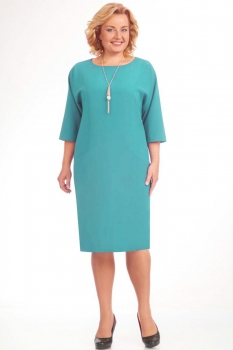 Платье Elga 01-472-24 светлая бирюза