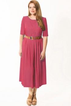 Платье Elga 01-499-1 клюква