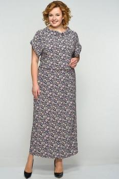 Платье Elga 01-500-1 круги