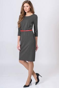 Платье Elga 01-513 светло-серый