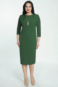 Платье Elga 01-526-2 темная зелень