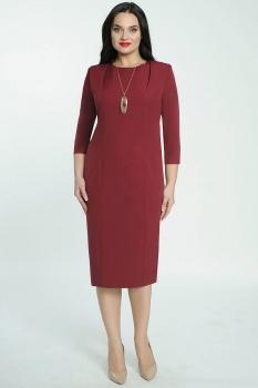 Платье Elga 01-526 бордо
