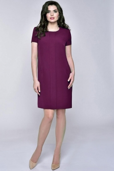 Платье Elga 01-531-1 слива