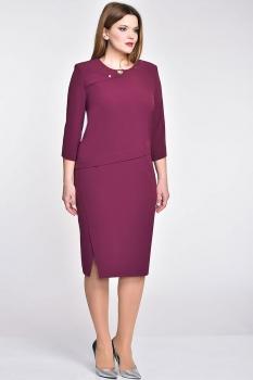 Платье Elga 01-533 слива