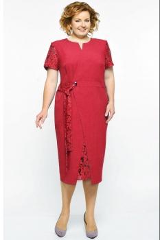 Платье Elga 01-542-2 красный